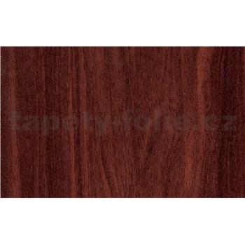 Samolepiace tapety mahagónové drevo - 45 cm x 15 m