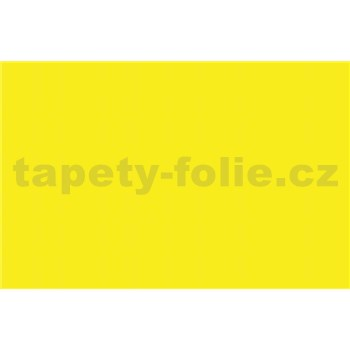 Samolepiace tapety - žltá lesklá - 45 cm x 15 m
