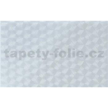 Samolepiace tapety - transparentné kosoštvorce - 45 cm x 15 m