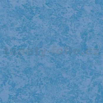 Samolepiace tapety štukový vzhľad - modrá - , metráž, šírka 67,5cm, návin 15m,