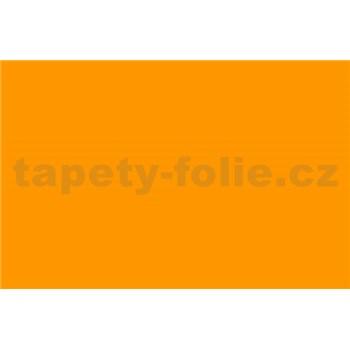 Samolepiace tapety - oranžová lesklá - 45 cm x 15 m