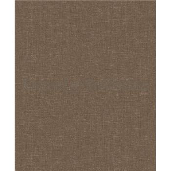 Vliesové tapety na stenu Allure štruktúrovaná tmavo hnedá