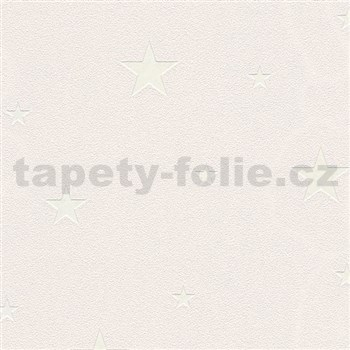 Vliesové tapety na stenu hviezdy na bielom podklade
