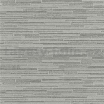 Vliesové tapety na stenu Wood'n Stone obklad hnedý