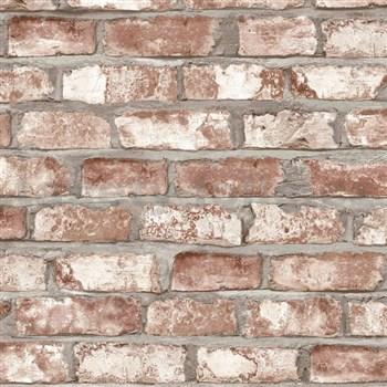 Vliesové tapety na stenu Exposed Warehouse tehla hnedá