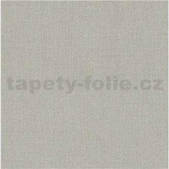 Vliesové tapety na stenu Avalon textilná štruktúra hnedo-modrá