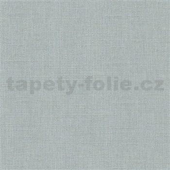 Vliesové tapety na stenu Avalon textilná štruktúra modrá