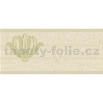 Vinylová bordúra zelená 13,3 cm x 5 m