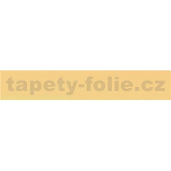 Samolepiaca bordúra žltá 10 m x 2 cm