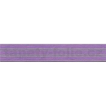 Samolepiaca bordúra fialová 5 m x 3 cm