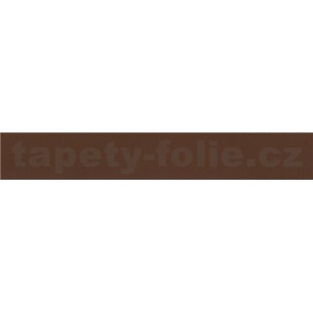Samolepiaca bordúra hnedá 10 m x 4 cm