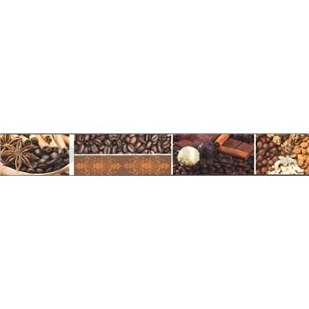 Samolepiaca bordúra káva 5 m x 4,3 cm