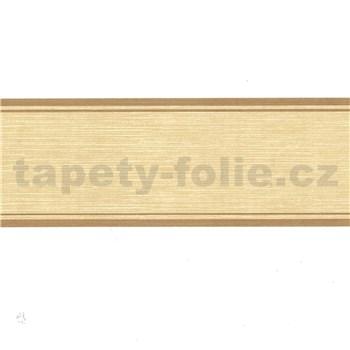 Samolepiaca bordúra žltá 5 m x 5 cm