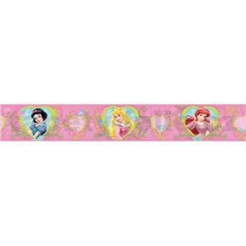 Bordúra Disney princezné 5 m x 10,6 cm