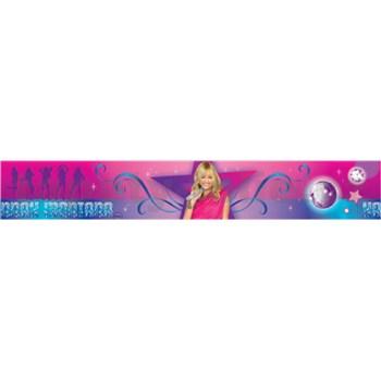 Bordúra Hannah Montana 5 m x 10,6 cm
