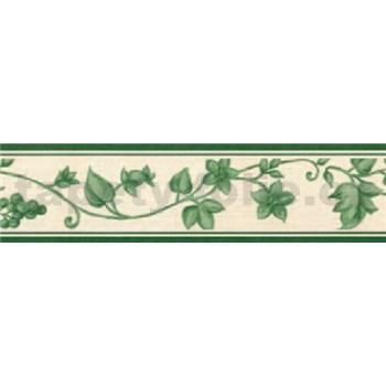 Samolepiaca bordúra - réva zelená 5 m x 5 cm