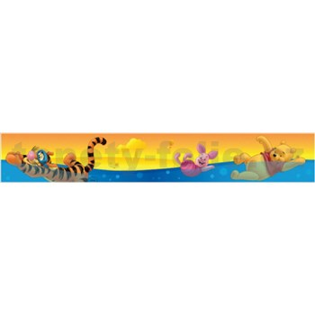 Bordúra medvedík Pú vo vode 5 m x 10,6 cm