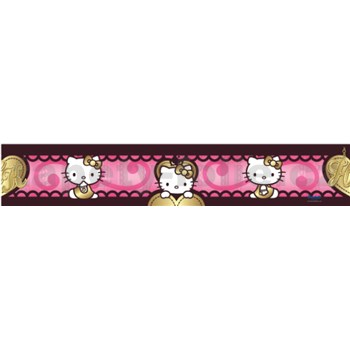Bordúra Hello Kitty love 5 m x 10,6 cm