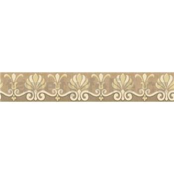 Bordúra rímsky vzor krémový 5 m x 5,3 cm