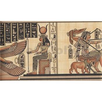 Bordúra papierová - Egypt - 5 m x 17,7 cm