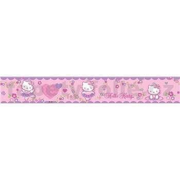 Bordúra detská 5 m x 10,6 cm Hello Kitty
