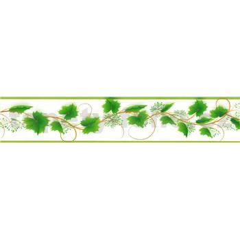 Samolepiaca bordúra zelený vinič 5 m x 5,8 cm