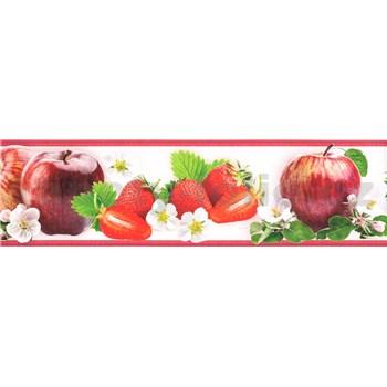 Samolepiace bordúry ovocie červené 5 m x 8,3 cm