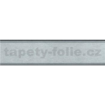 Samolepiaca bordúra modro-šedá 5 m x 5 cm