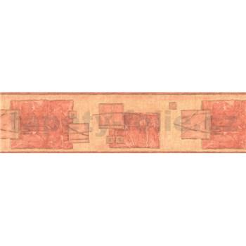 Samolepiace bordúry cubes hnedé 10 m x 5,3 cm
