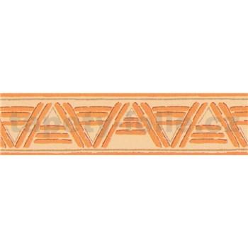 Samolepiace bordúry lines oranžové 10 m x 5,3 cm