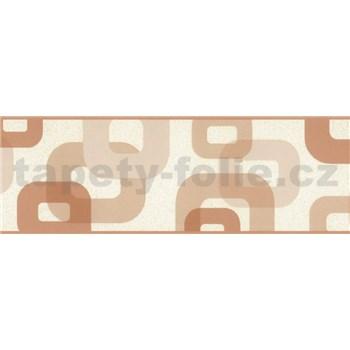 Samolepiaca bordúra 3D svetlo hnedá 5 m x 6,9 cm