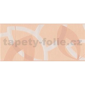 Vinylová bordúra marhuľová 13,3 cm x 5 m