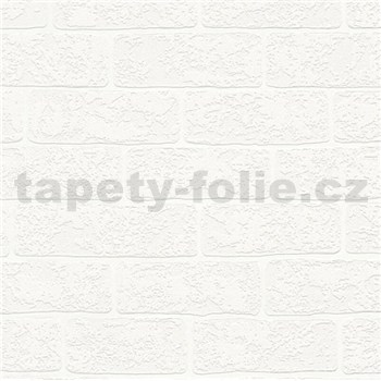Vliesové tapety na stenu Boys & Girls tehla biela