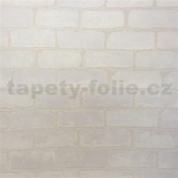 Vliesové tapety na stenu Bread & Butter tehla biela - POSLEDNÉ KUSY