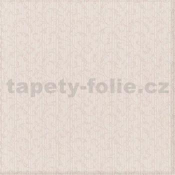 Luxusné vliesové tapety na stenu Brilliance zámocký vzor krémový