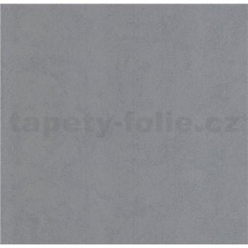 Luxusné vliesové tapety na stenu Brilliance jednofarebná štruktúrovaná sivá