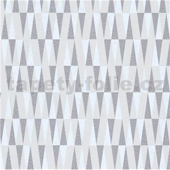 Vliesové tapety IMPOL Carat 2 retro vzor strieborno-biely