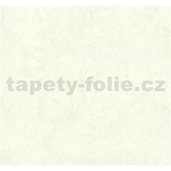 Vliesové tapety na stenu Carat metalická biela