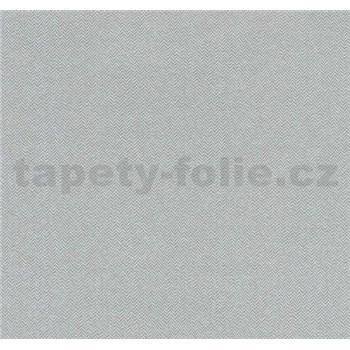 Vliesové tapety na stenu Casual Chic vzor rybia kosť sivá