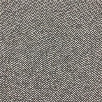 Vliesové tapety na stenu Casual Chic vzor rybia kosť tmavo hnedá