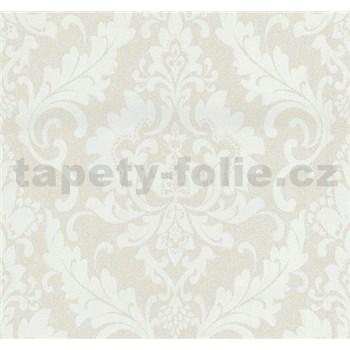 Vliesové tapety na stenu Casual Chic zámocký vzor béžový