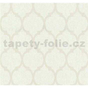 Vliesové tapety na stenu Casual Chic retro vzor svetlo hnedý