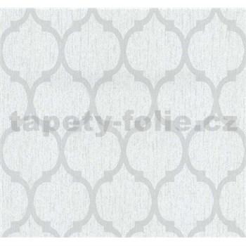 Vliesové tapety na stenu Casual Chic retro vzor svetlo sivý