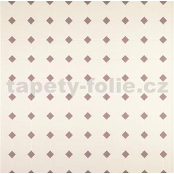 Dekoratívny obklad na stenu Ceramics krémový s hnedými elementmi šírka 67,5 cm x 20 m