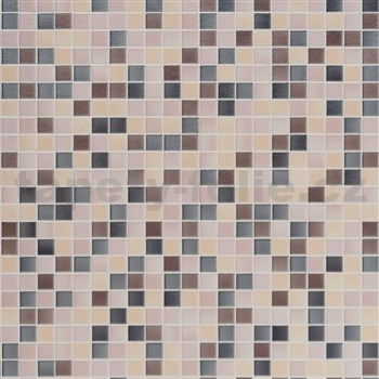 ZBYTKOVÁ METRÁŽ dekoratívny obklad na stenu Ceramics mozaika farebná šírka 67,5 cm