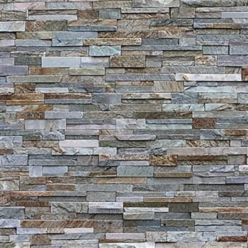 Dekoratívny obklad na stenu Ceramics pieskovec sivomodrý šírka 67,5 cm x 20 m