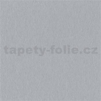 Vliesové tapety na stenu IMPOL City Glam jemné vlnovky sivé