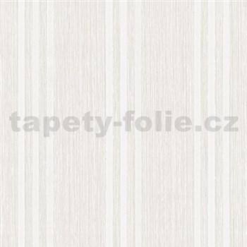 Vliesové tapety na stenu Classico pruhy smotanové - POSLEDNÉ KUSY