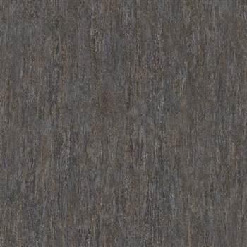 Vliesové tapety na stenu IMPOL Code Nature travertin tmavo sivo-hnedý