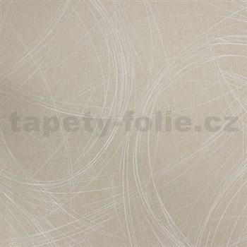 Vliesové tapety na stenu Colani Visions moderný abstrakt béžový